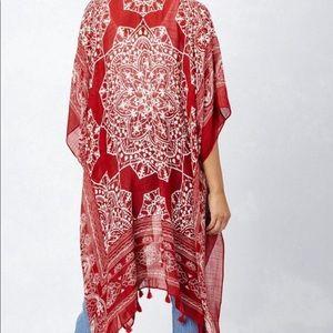 Love stitch women's beach/cover kimono